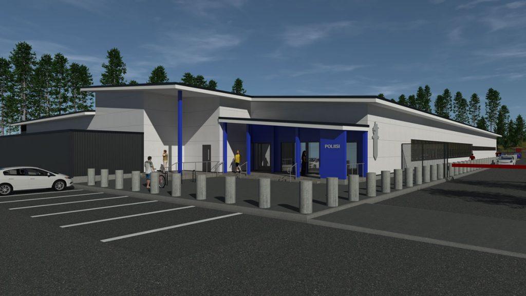Äänekosken uusi poliisitalo