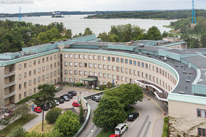 Puistosairaala. Kuva Päivi Järvinen / HUS